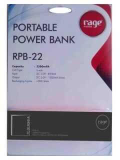 Rage RPB-22 2200 mAh Power Bank Price