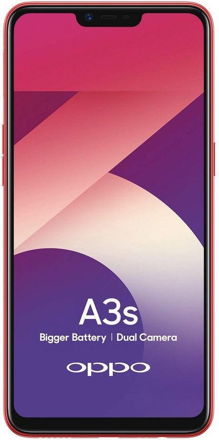 Does Oppo A3s has a fingerprint sensor? | 91mobiles com