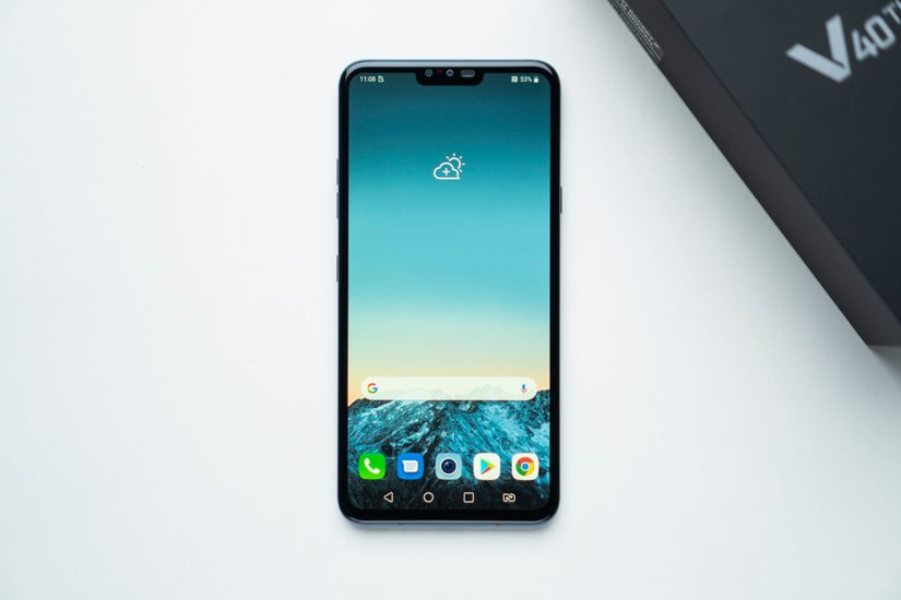 LG V40 ThinQ Images, Official Pictures, Photo Gallery   91mobiles com
