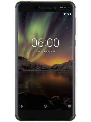 Nokia 6.1 (Blue-Gold, 3GB RAM, 32GB Storage) Unboxed with 1 Year Warranty