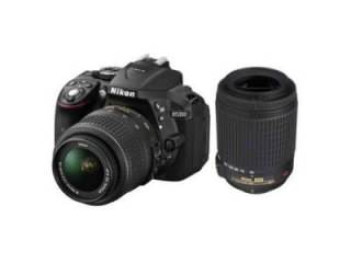 Nikon D5300 (AF-S 18-55mm VR II and AF-S 55-200mm VR II Kit Lenses) Digital SLR Camera Price