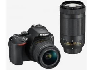 Nikon D5600 (AF-P DX 18-55mm f/3.5-f/5.6G VR and AF-P DX 70-300mm f/4.5-f/6.3G ED VR Dual Kit Lens) Digital SLR Camera Price