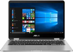 Asus Vivobook Flip TP401CA-DHM6T Laptop (Core M3 7th Gen/4 GB/128 GB SSD/Windows 10) Price