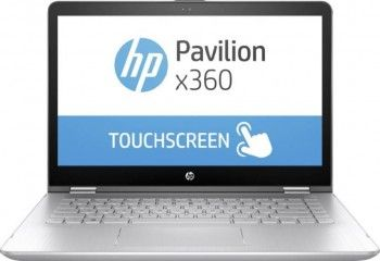 HP Pavilion TouchSmart 14 x360 14-ba151tx (3KK49PA) Laptop (Core i3 7th Gen/4 GB/1 TB/Windows 10/2 GB) Price