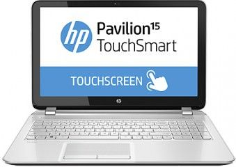 HP Pavilion TouchSmart 15-n204AX (F6C62PA) Laptop (AMD Quad Core A6/4 GB/750 GB/Windows 8 1/1 GB) Price