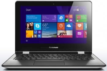 Lenovo Ideapad Yoga 300 (80M100FHIN) Laptop (Pentium Quad Core/4 GB/500 GB 8 GB SSD/Windows 10) Price