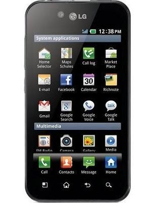 LG Optimus Black Price
