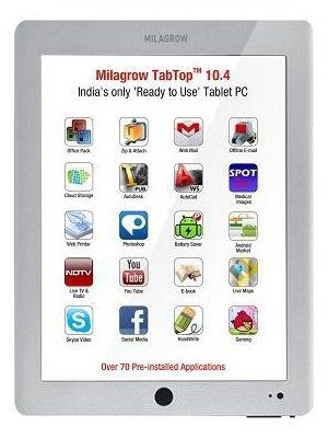 Milagrow TabTop 10.4 DX 16GB Price