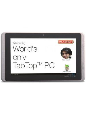 Milagrow Tabtop 7.16 DX 8GB WiFi and 3G Price