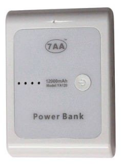 7AA YA120 12000 mAh Power Bank Price