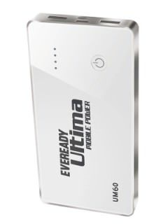 Eveready UM 60 6000 mAh Power Bank Price
