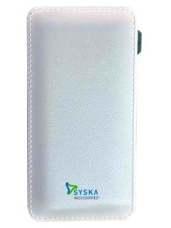 Syska Power Vintage 6000 mAh Power Bank Price