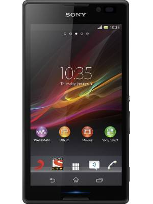 overview - Sony Xperia C C2305 Dual SIM Android Mobile Phone - Black