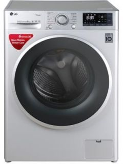 LG FHT1208SWL 8 Kg Fully Automatic Front Load Washing Machine Price