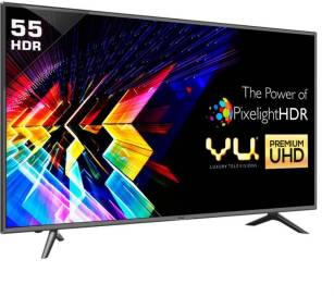 Vu 140cm (55 inch) Ultra HD (4K) LED Smart TV (LTDN55XT780XWAU3D)