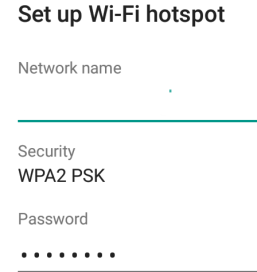How to set up Wifi Hotspot on Xiaomi Redmi Note 5 Pro
