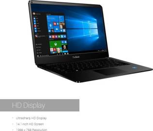 RDP ThinBook Atom Quad Core 8th Gen - (2 GB/32 GB EMMC Storage/Windows 10) 1430b